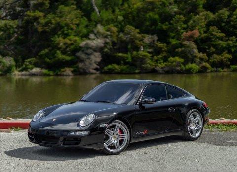 2008 Porsche 911 Carrera S Coupe = All Black Manual  For Sale (picture 1 of 6)