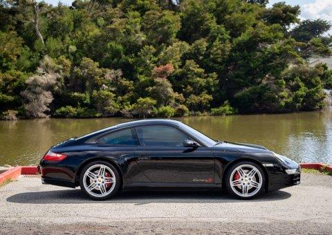 2008 Porsche 911 Carrera S Coupe = All Black Manual  For Sale (picture 2 of 6)