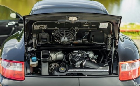 2008 Porsche 911 Carrera S Coupe = All Black Manual  For Sale (picture 6 of 6)