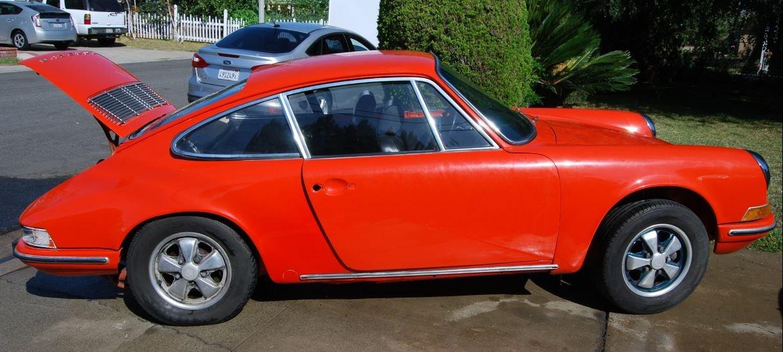 1969 Porsche 912 orange '69 For Sale (picture 1 of 6)