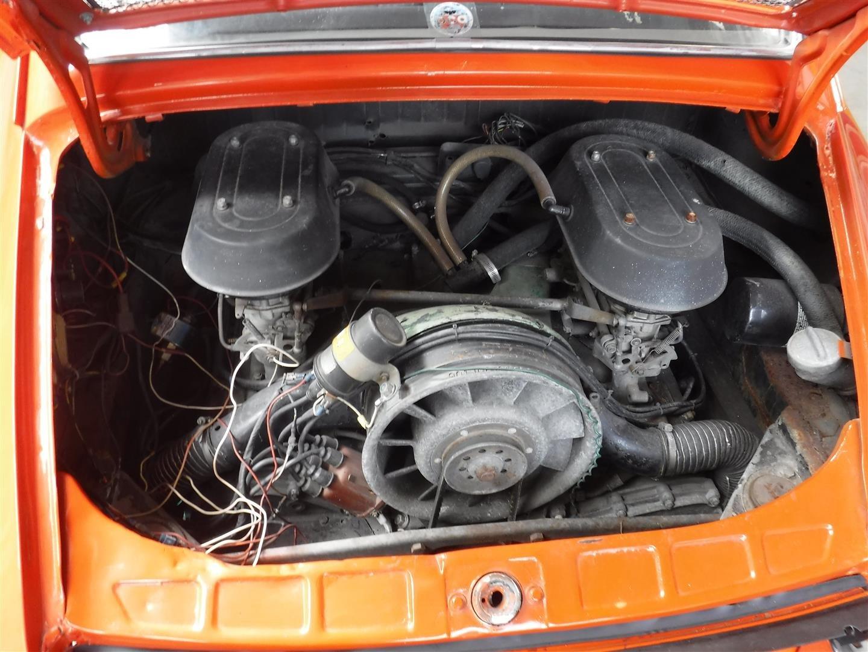 1969 Porsche 912 orange '69 For Sale (picture 4 of 6)