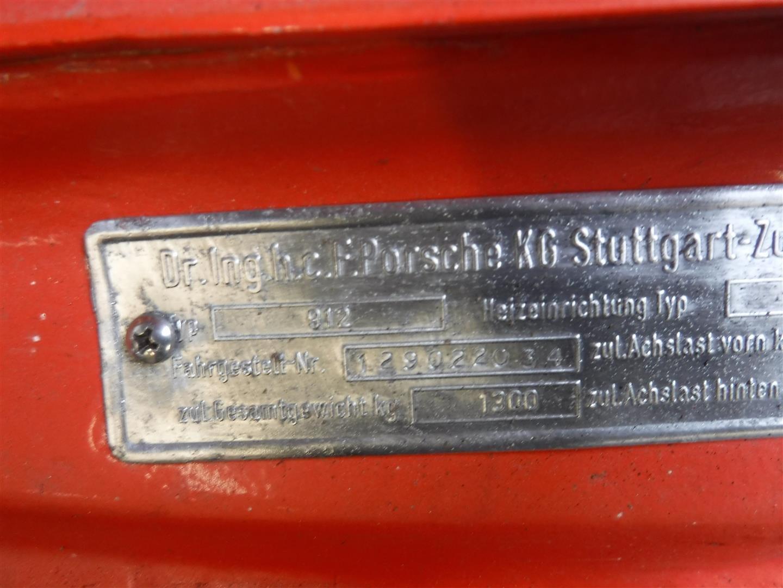 1969 Porsche 912 orange '69 For Sale (picture 5 of 6)
