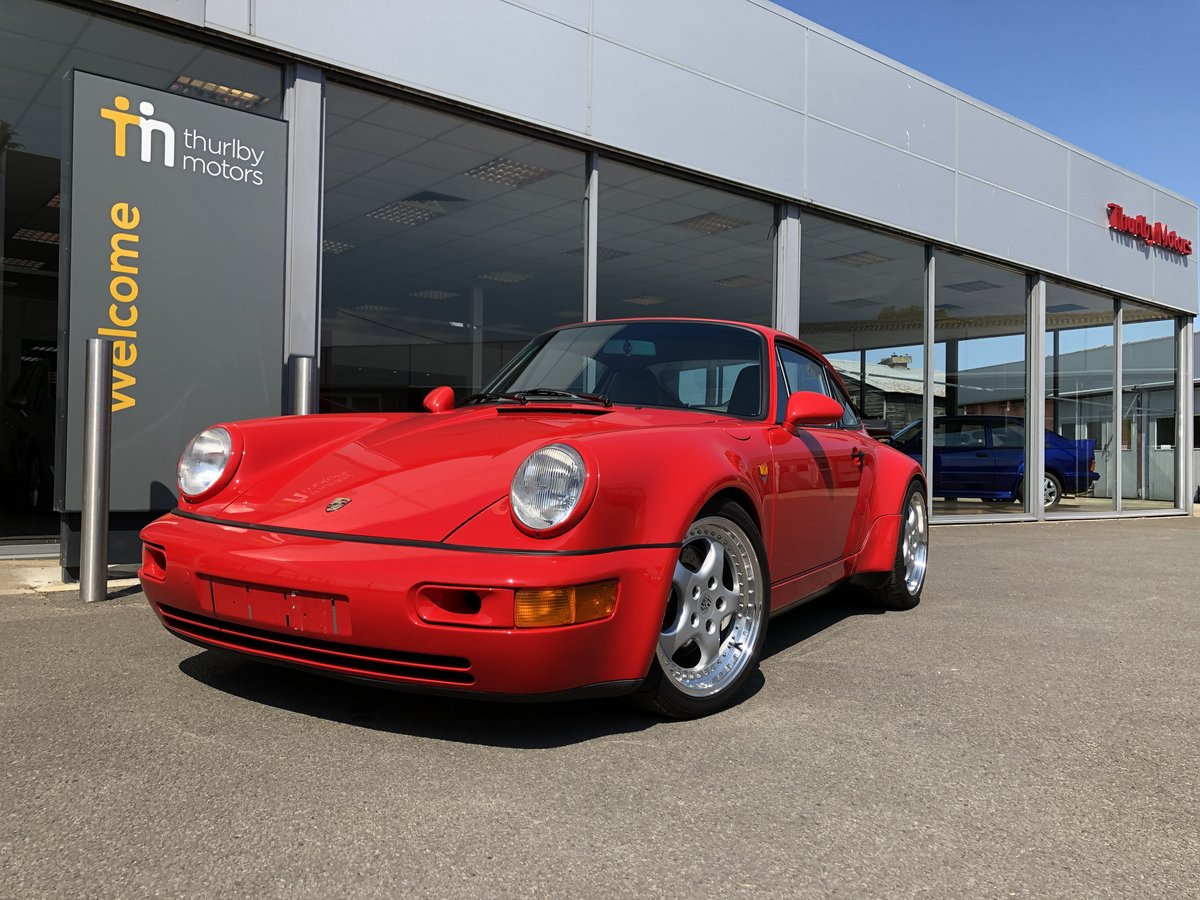 1993 Porsche 911 Turbo Coupe For Sale (picture 1 of 6)
