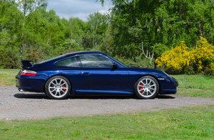 2004 996 GT3 mk2 Comfort Lapis Blue - FPSH, low mileage For Sale