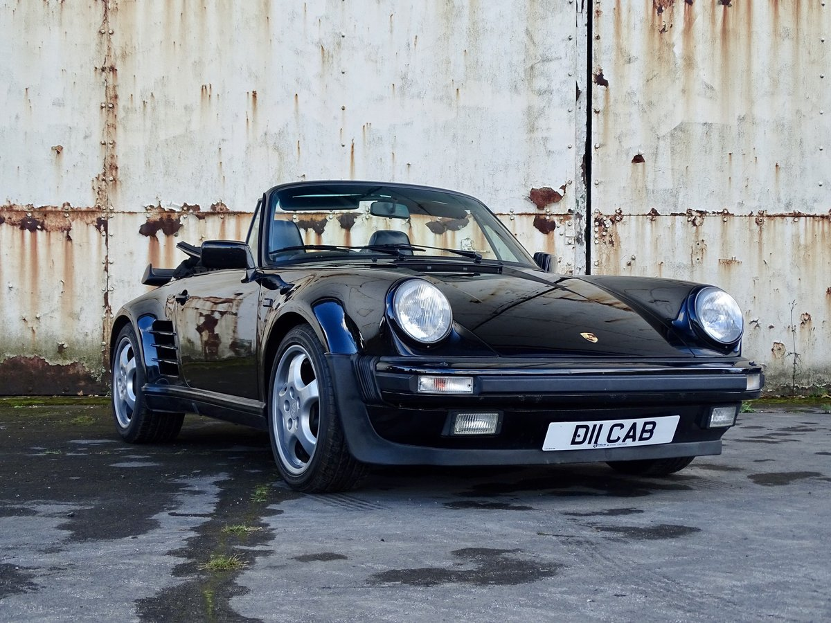 1989 Porsche 911 Supersport Cabriolet 'Exclusive'. 35,000 miles For Sale (picture 1 of 6)
