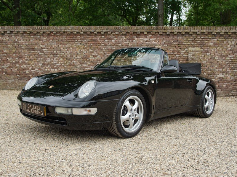 1996 Porsche 993 911 Carrera Convertible fully documented, all hi For Sale (picture 1 of 6)