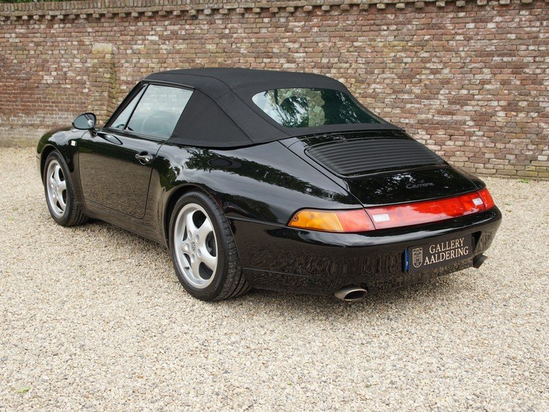 1996 Porsche 993 911 Carrera Convertible fully documented, all hi For Sale (picture 2 of 6)