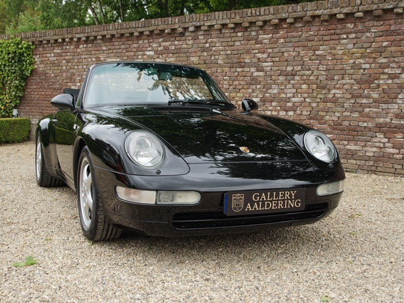 1996 Porsche 993 911 Carrera Convertible fully documented, all hi For Sale (picture 5 of 6)