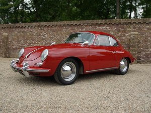 1962 Porsche 356B T6 Karmann Coupe matching numbers, original col For Sale
