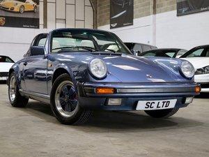 1989 G Reg Porsche 911 3.2 Carrera Sport Targa Manual For Sale