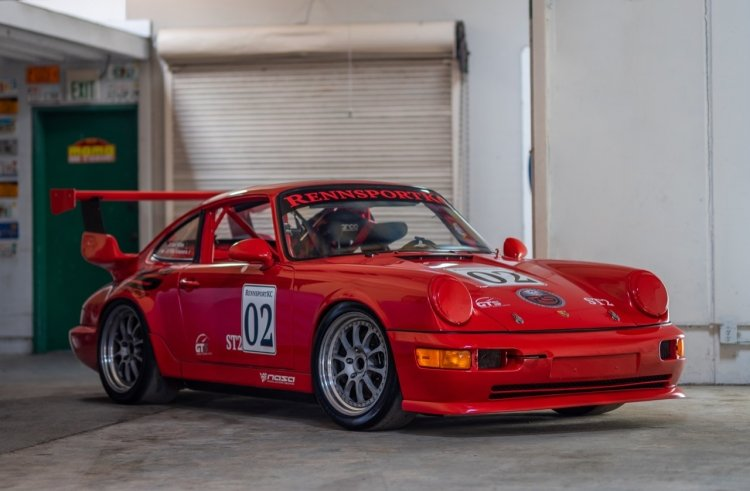 1993 Porsche RS America GT = Race(~)Car Red  $92.5k For Sale (picture 1 of 6)