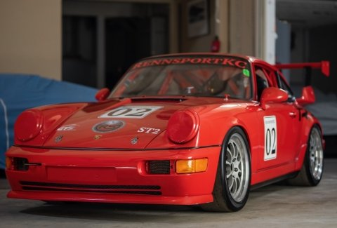1993 Porsche RS America GT = Race(~)Car Red  $92.5k For Sale (picture 2 of 6)