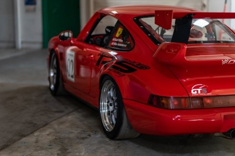 1993 Porsche RS America GT = Race(~)Car Red  $92.5k For Sale (picture 3 of 6)
