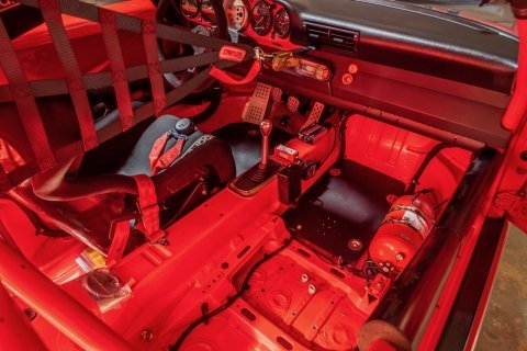 1993 Porsche RS America GT = Race(~)Car Red  $92.5k For Sale (picture 5 of 6)
