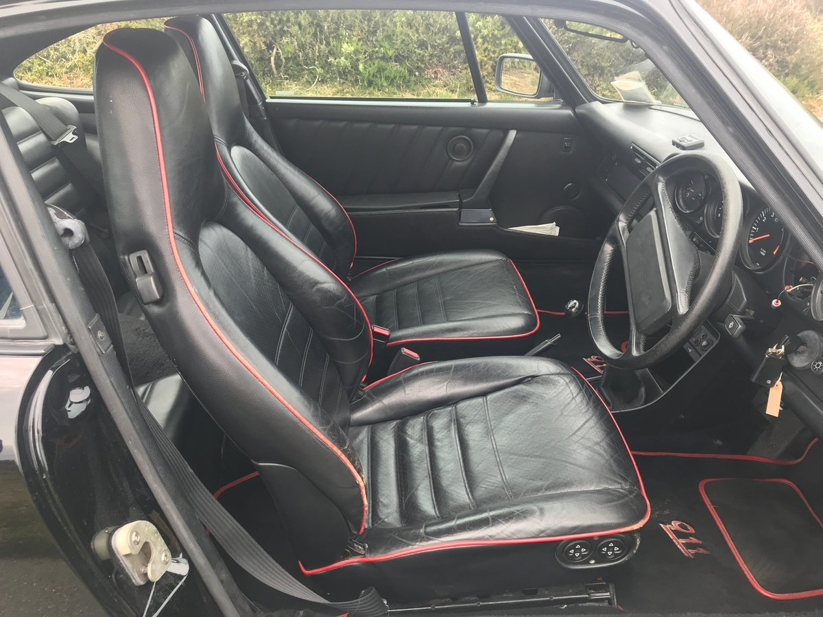 1987 Porsche 911 Carrera Coupe with sunroof AFN supplied For Sale (picture 5 of 6)