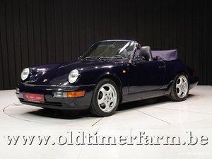 1989 Porsche 964 C2 Cabriolet '89 For Sale