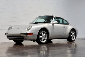 4750 1995 Porsche 911 Carrera Coupe = Auto Silver 67k miles $47.5