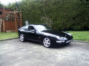 1994 PORSCHE 968 UK SPORT BLACK For Sale