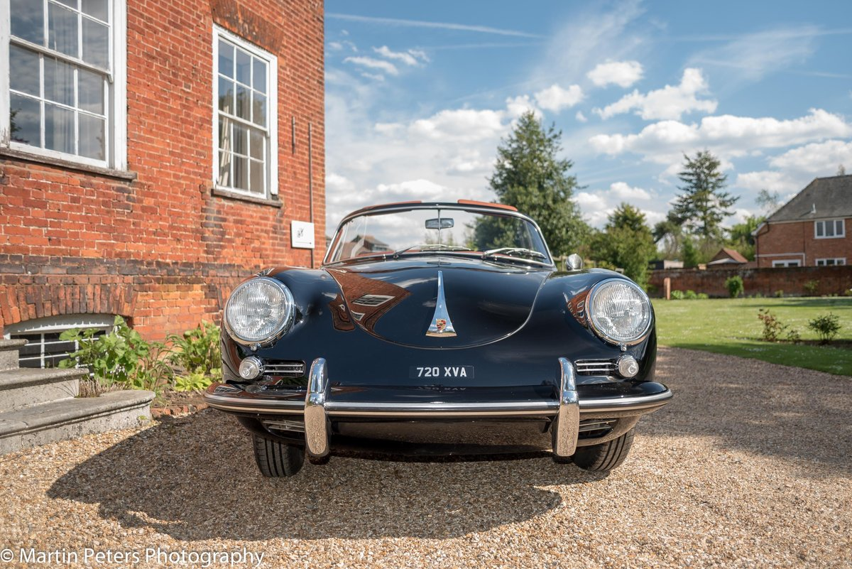 Porsche 356 B T5 Cabriolet 1961 For Sale (picture 6 of 24)