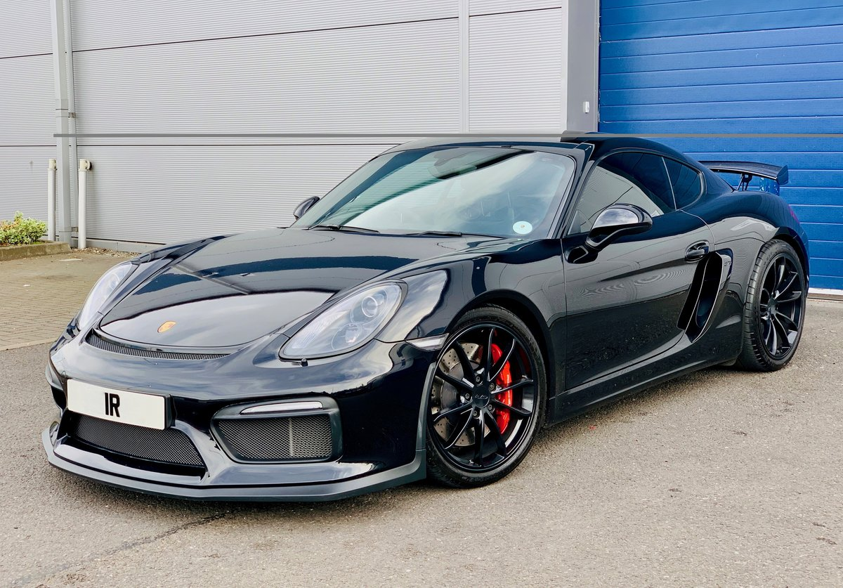 2016 Porsche Cayman GT4 Clubsport 981 For Sale (picture 1 of 6)