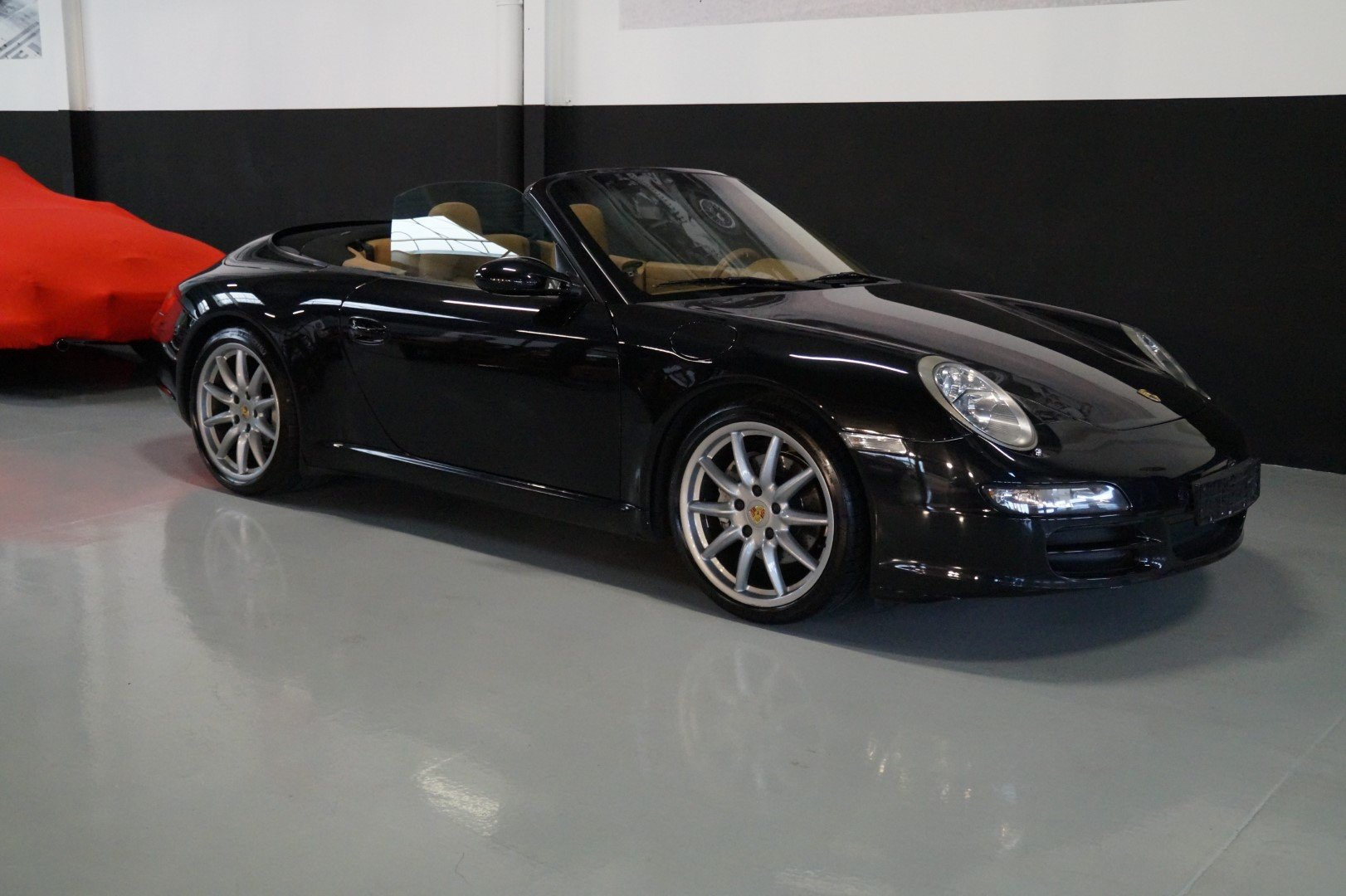 PORSCHE 911 997 Carrera 2 Convertible MANUAL!!! (2006) For Sale (picture 1 of 6)