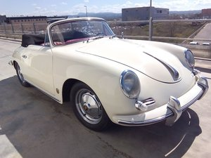 Porsche 356 B Cabriolet year 1960 - with hard top For Sale