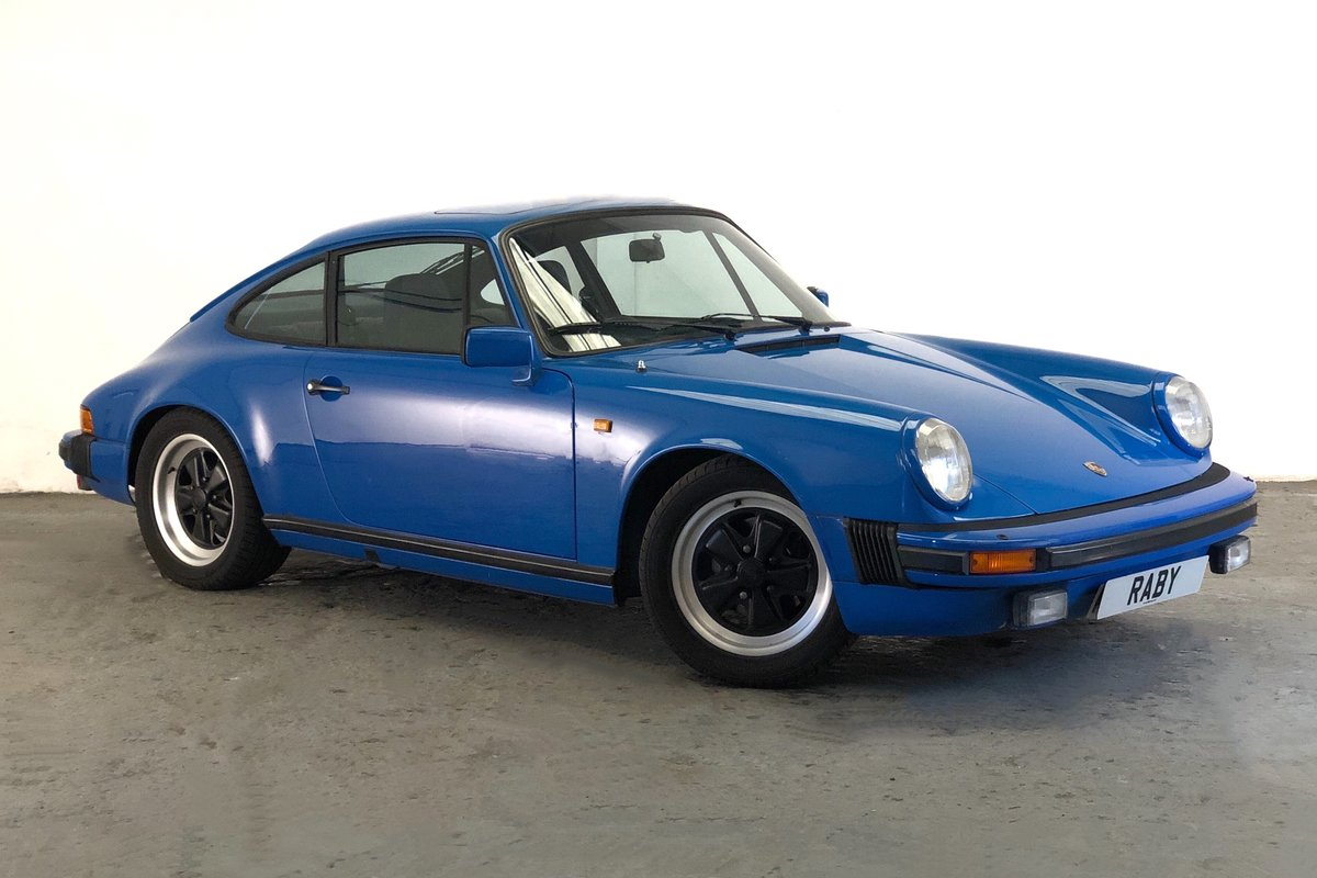1981 Porsche 911SC in rare colour SOLD (picture 1 of 6)