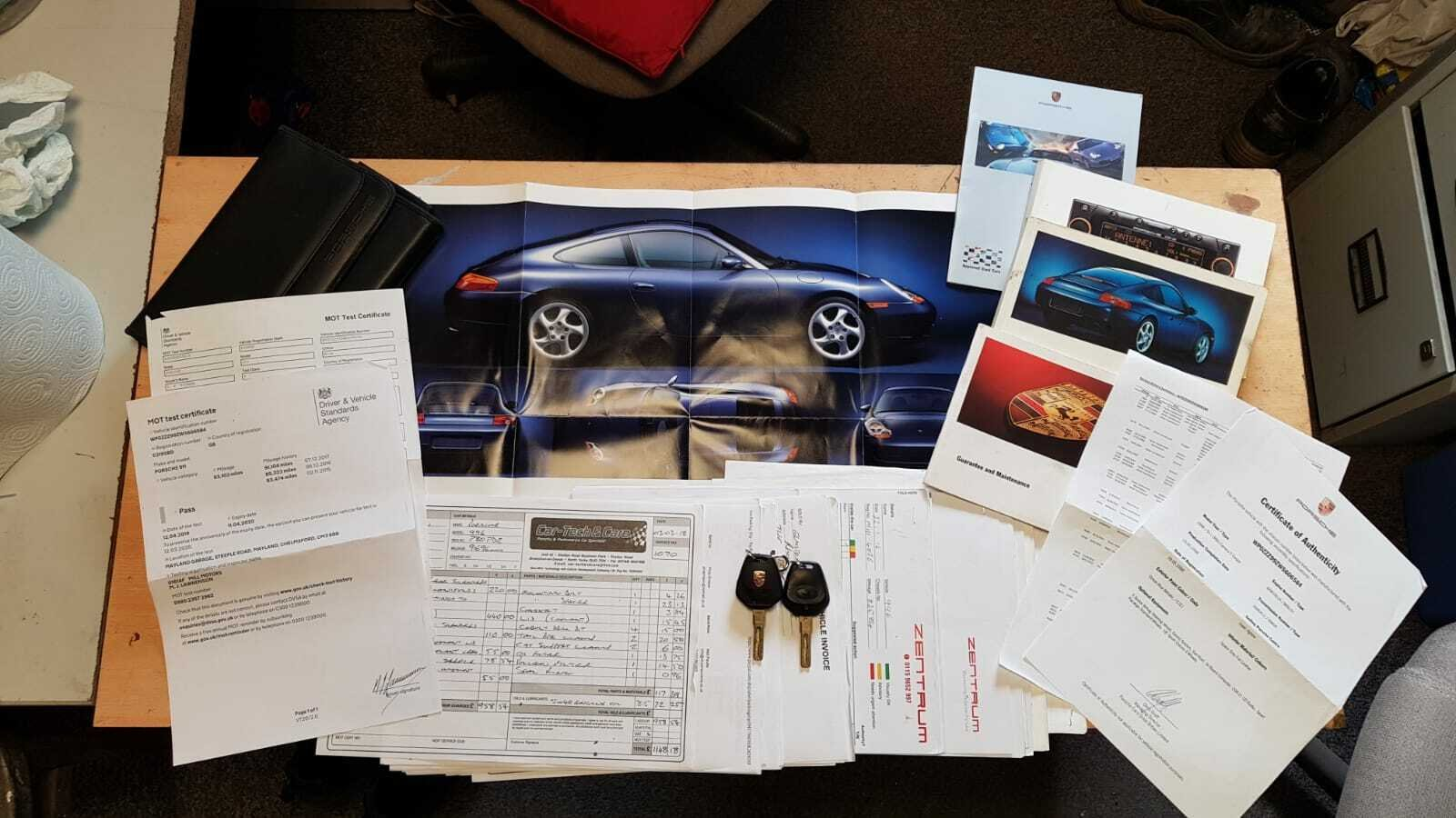 1998 911 Porsche Carrera, Full History, Low Miles For Sale (picture 6 of 6)