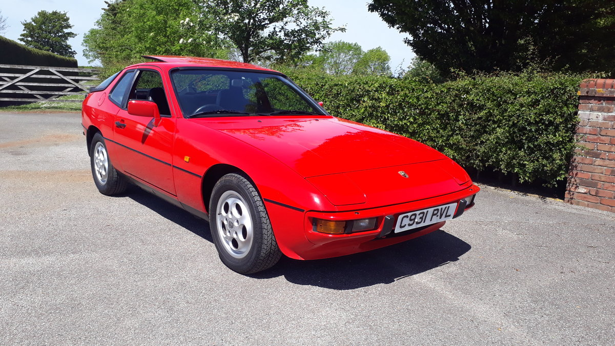 Porsche 924S 1985 74k Miles Owned Since 1992 Manual 2.5L 2+2 For Sale (picture 1 of 6)