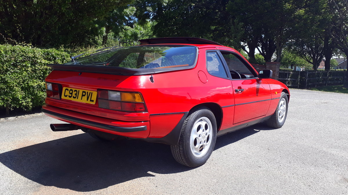 Porsche 924S 1985 74k Miles Owned Since 1992 Manual 2.5L 2+2 For Sale (picture 3 of 6)