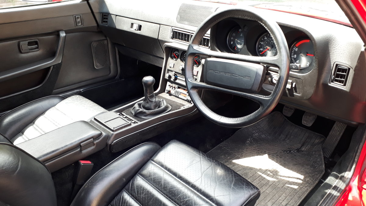 Porsche 924S 1985 74k Miles Owned Since 1992 Manual 2.5L 2+2 SOLD (picture 4 of 6)