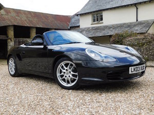 2003 Porsche 986 Boxster 2.7 - facelift, 67k, 1 owner to 2019 For Sale