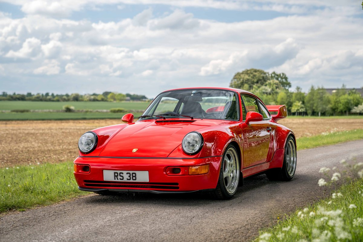 1994 Porsche 964 3.8 RS - Only C16 UK supplied RHD example For Sale (picture 1 of 6)