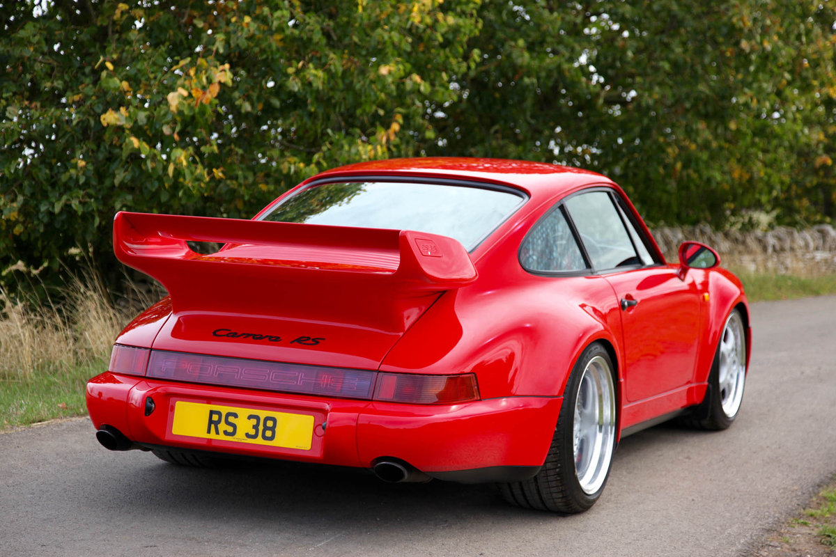 1994 Porsche 964 3.8 RS - Only C16 UK supplied RHD example For Sale (picture 2 of 6)