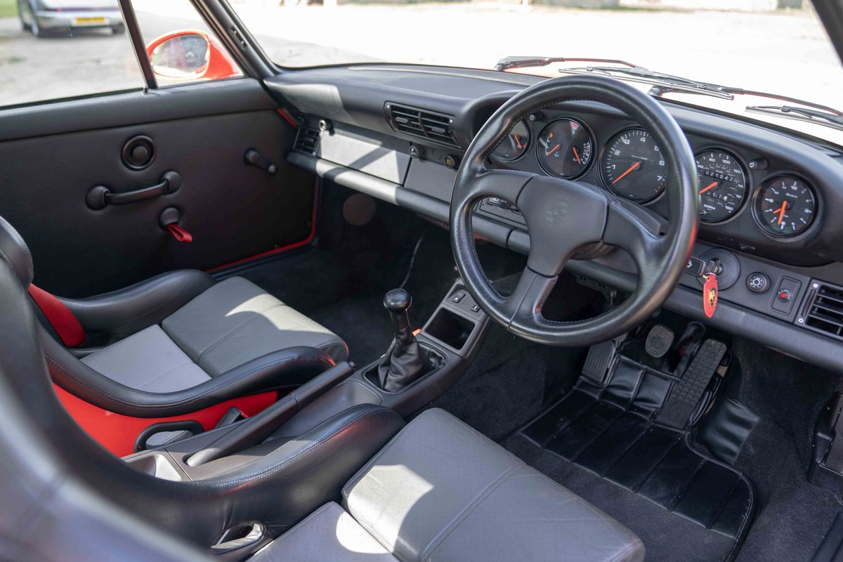 1994 Porsche 964 3.8 RS - Only C16 UK supplied RHD example For Sale (picture 6 of 6)