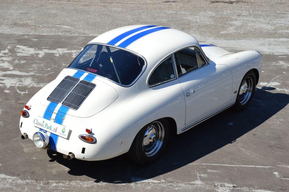 (1025) Porsche 356 B Karmann Coupé 1600S - 1963 For Sale (picture 2 of 6)