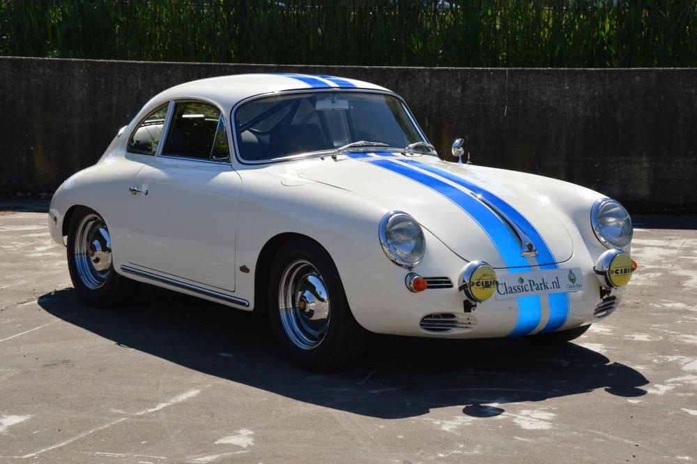 (1025) Porsche 356 B Karmann Coupé 1600S - 1963 For Sale (picture 3 of 6)