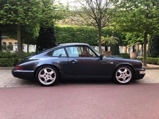 1990 Porsche 964 Carrera 4 Coupe, Marine Blue For Sale