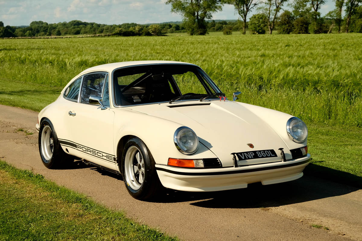 1973 Porsche 911S to S/T Spec with HTP Papers SOLD (picture 1 of 6)