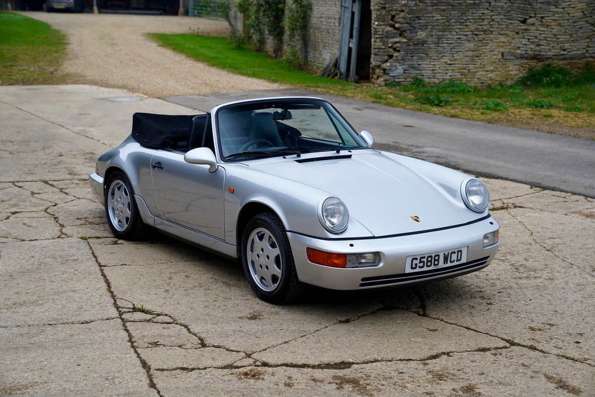 1990 Porsche 964 C2 Cabriolet For Sale (picture 1 of 5)