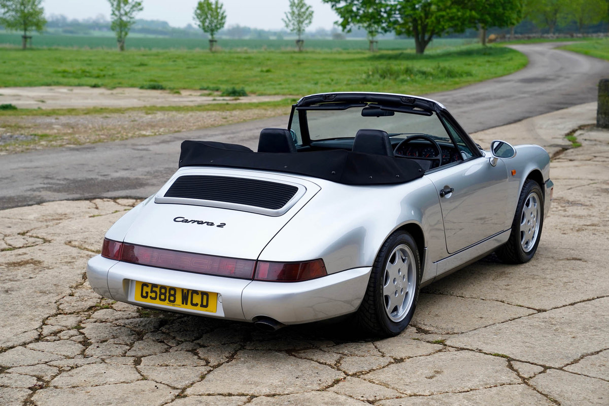 1990 Porsche 964 C2 Cabriolet For Sale (picture 2 of 5)