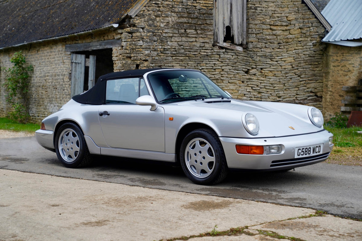 1990 Porsche 964 C2 Cabriolet For Sale (picture 5 of 5)