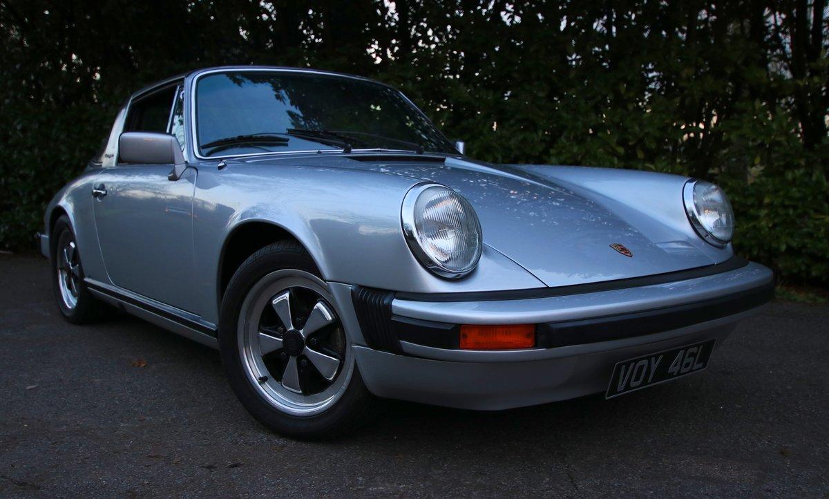 1975 Porsche 911S Targa with recent rebuilt engine For Sale (picture 1 of 6)