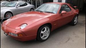 1992 PORSCHE 928 S4 GTS 5.4, AUTO, 25000 MILES, BARN FIND