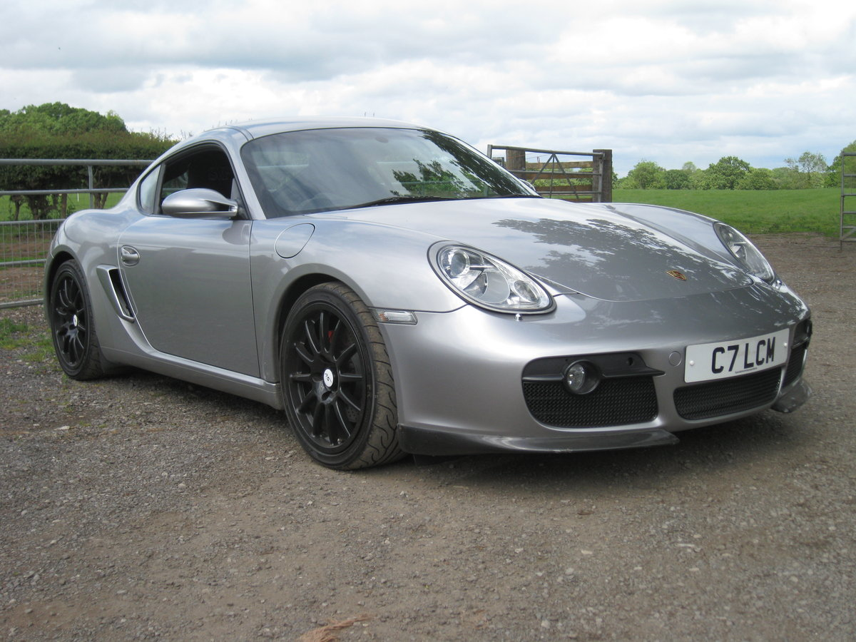 2006 Porsche Cayman SV road/track car For Sale (picture 1 of 6)