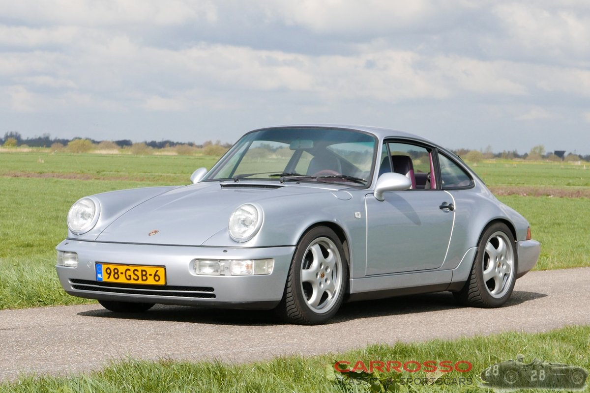 1991 Porsche 911 (964) Carrera 2 in perfect condition For Sale (picture 1 of 6)