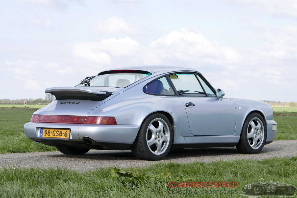 1991 Porsche 911 (964) Carrera 2 in perfect condition For Sale (picture 2 of 6)