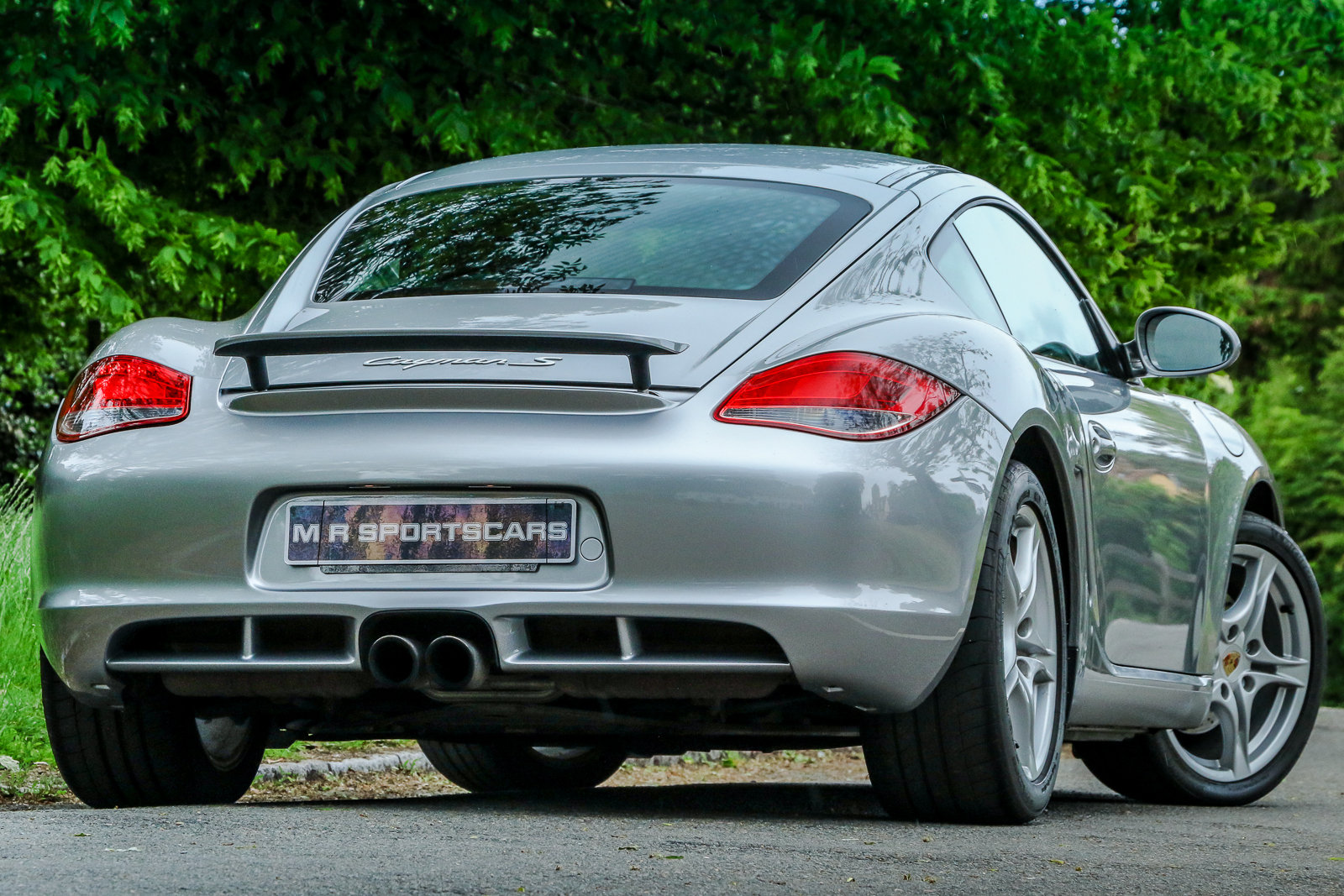 2009 Porsche Cayman S 987.2 Gen 2 GT Silver Metallic PASM For Sale (picture 2 of 6)