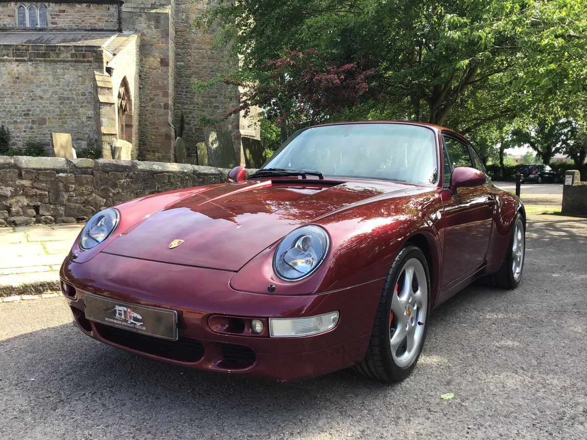 PORSCHE 911(993)COUPE,1996,LOW MILES.OUTSTANDING CONDITION! For Sale (picture 1 of 6)