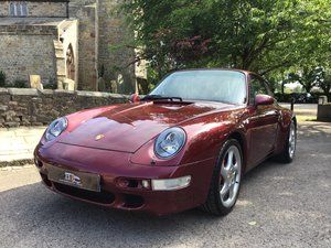 PORSCHE 911(993)COUPE,1996,LOW MILES.OUTSTANDING CONDITION! For Sale